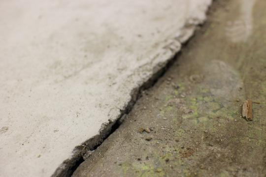 【リノベーション・レポート:床をはつりました!】