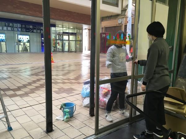 ファブラボ山口の新春大掃除!
